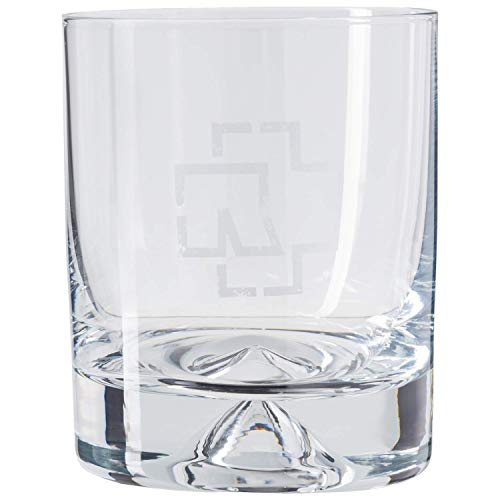 "Rammstein Tumbler ""Logo"" 2er Box *metallic-grau* 0,29l Glas, Offizielles Band Merchandise"