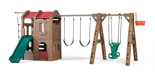 Big Sale Best Cheap Deals Step2 Naturally Playful® Adventure Lodge Play Center with Glider