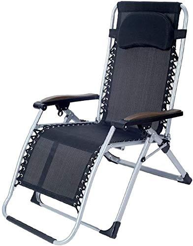 Suge Al aire libre de descanso de cero gravedad Silla plegable de la siesta de playa Balcón casa de recreo del respaldo individual Cama perezoso fácil de llevar