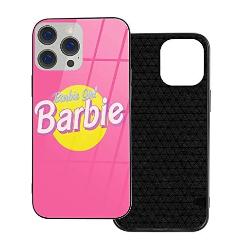 Compatible con iPhone Samsung Xiaomi Redmi Note 10 Pro/Note 9/8/9A/Poco M3 Pro/Poco X3 Pro Funda Barbie Cubierta de Cristal de Las Cajas del teléfono