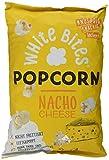 White Bites Popcorn Nacho Cheese, 2er Pack (2 x 80 g) -
