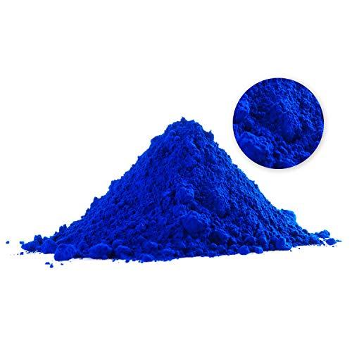BEKATEQ Eisenoxidpigmente BE-120 Farbpigmente für Epoxidharz Betonfarbe - Blau - 5kg