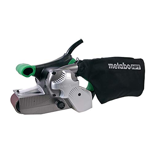 Product Image of the Metabo HPT Belt Sander | Variable Speed | 3-Inch x 21-Inch V-Belt | 9.0 Amp Motor | Soft Grip | 5-Year Warranty | SB8V2