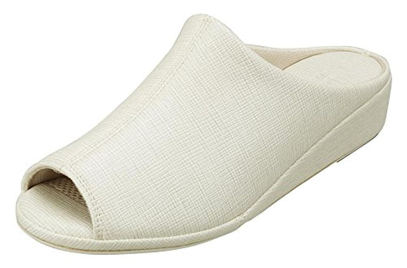 石鹸先擁する[パンジー] スリッパ婦人用室内履きレディースルームシューズ高めヒールのカバードデザイン9422