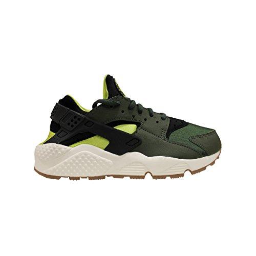 Nike Air Huarache Run Dames Hardlooptrainers 634835 Sneakers Schoenen (VK 8.5 US 11 EU 43, Carbon Groen Zwart 300)