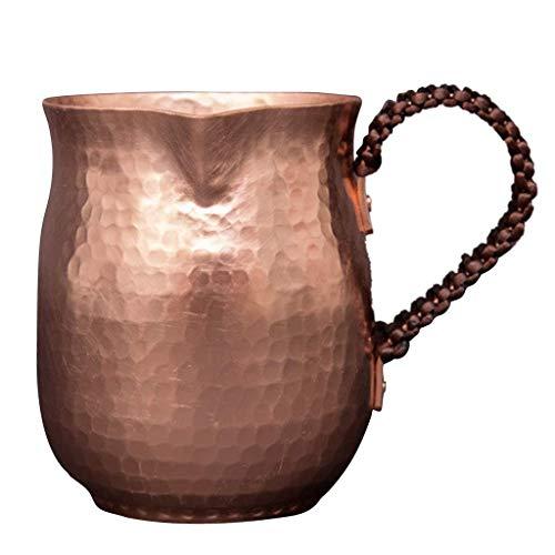 Tubayia Tazas de cobre Moscow Mule de 450 ml para café, para café, casa, bar