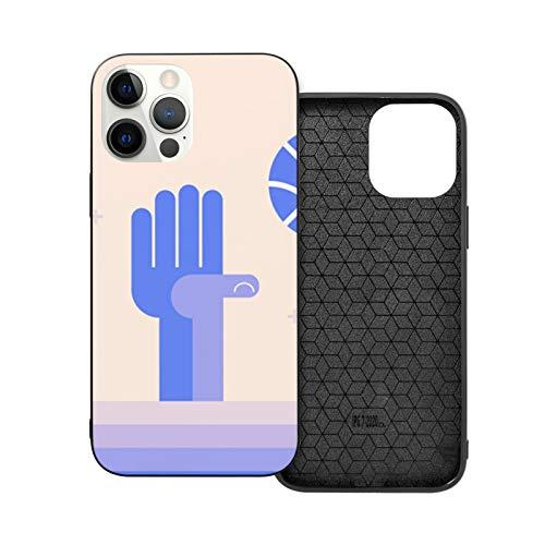 Nba Stopping Hand - Carcasa a prueba de golpes compatible con iPhone 12 y iPhone 12 Pro 6.1'