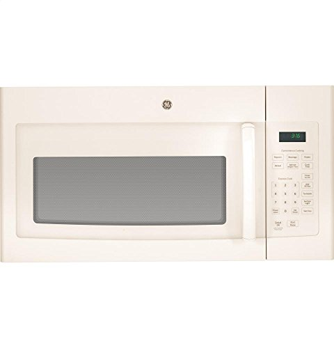 GE JVM3160DFCC 1.6 Cu. Ft. Over-The-Range Microwave Oven, Bisque, 1000 Watts-1029481