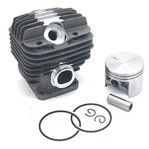 Kits de pistón de cilindro de 50 mm con pasador de 10 mm para Stihl 044 044C 044R 044W MS440 MS440C MS440D MS440 Magnum MS440 Magnum R MS440N MS440RZ MS440VWZ MS440W MS440Z PN 1128 020 1227