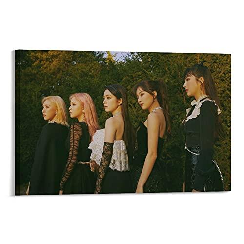 Star Girl Group Red Velvet Kpop Reve Festival Finale Teaser Irene Joy Seulgi Wendy Member Collection - Lienzo decorativo para pared (20 x 30 cm)