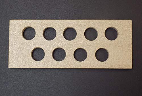 Zugumlenkung hinten für Thorma Tromsö Kaminöfen - Vermiculite - Passgenaues Kaminofen Ersatzteil