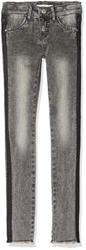 NAME IT NAME IT Mädchen NKFPOLLY DNMTENLEY 5151 Pant NOOS Hose, Grau (Medium Grey Denim), (Herstellergröße:92)