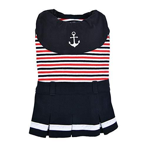 Puppia Hundebekleidung Nautical Navy L