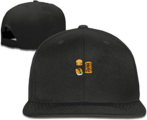 asdew987 Baseball Caps for Men-Burger Trucker Cap Adjustable Youth Golf Caps Hats