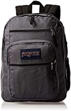 JanSport Big Student Backpack - 15-inch Laptop School Pack, Deep Grey