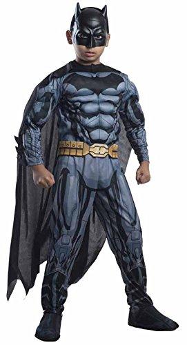 Rubie's - Disfraz de Batman para niños de 8 - 10 años (VZ-2802)