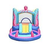 Krakeblätterblätter aufblasen Indoor Kleine Familie Trampolin Slide Cean Ball Pool-380x200x180cm