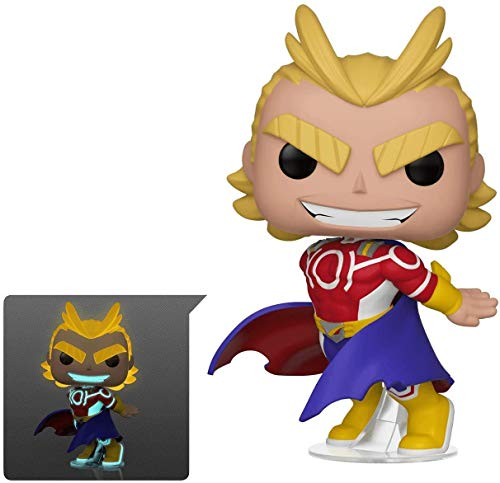 Funko Figura Pop Silver Age All Might Exclusive- My Hero Academia