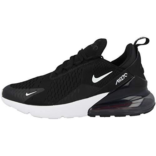 Nike Jungen Air Max 270 (gs) Laufschuhe, Mehrfarbig Black White Anthracite 001, 38.5 EU