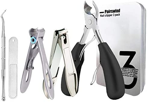 Thick Toenail Clippers Mens Nail Clippers for Large Big Thick Nail and Toenail Senior Nail Clippers product image
