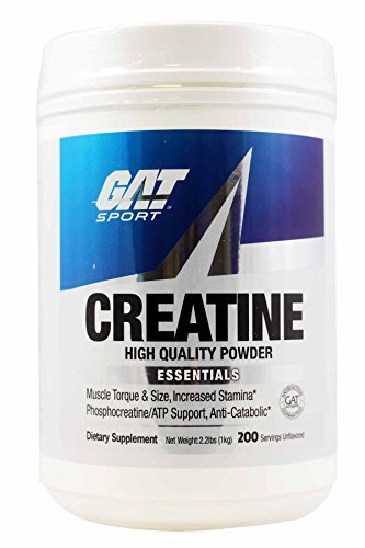 GAT Essentials Creatine Monohydrate Powder, 1000 g