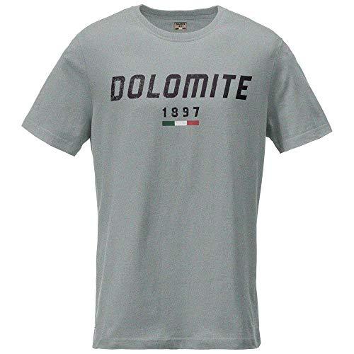 Dolomite Unisex-Erwachsene T-Shirt Settantasei Mt L Grau meliert