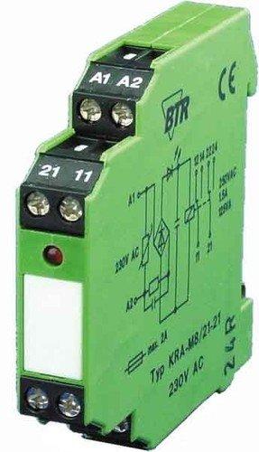 Unbekannt Metz Connect Koppelbaustein KRA-M8/21-21 230AC 2W Schaltrelais 4250184122708