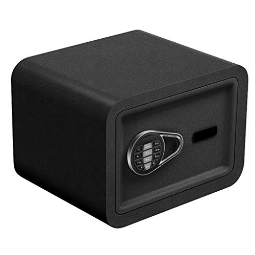 Boxes & Organizers Sicherheits-Schrank für Kleine, elektronische Kennwortschlüsselaufbewahrung, 2-lagig, 38 x 30 x 30 cm, Schwarz