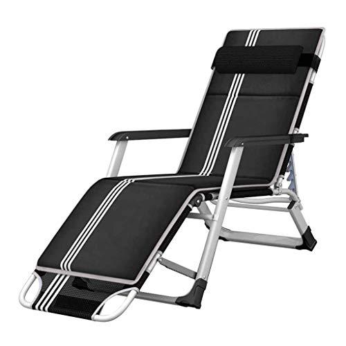 Tissu Textilene Chaise Longue Inclinable Chaise Longue Relaxer Relaxer Zero Gravity Chaises De Jardin Pause Déjeuner Réglable Noir