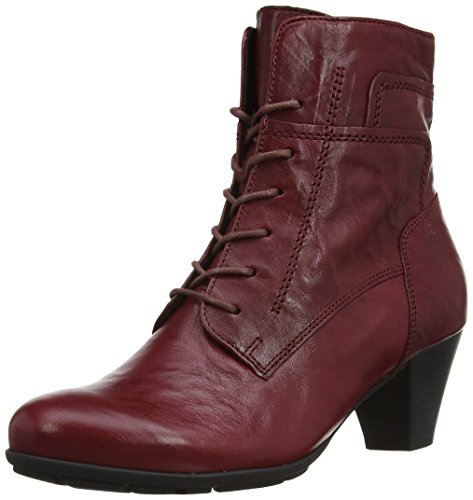 Gabor Shoes 35.644 Damen Kurzschaft Stiefel, Rot (dark-red 55), 38 EU