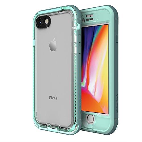 LifeProof NÜÜD Series Waterproof Case for iPhone 8 (ONLY) - Retail Packaging - Cool Mist (Aqua SAIL/Aquifer/Clear)