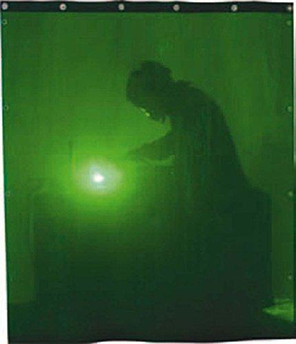 Solter 06142 Cortina de protección para soldadura, 1400 x 1400 mm, color verde oscuro