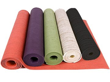 Chin Mudra Tapis de Yoga eco-Latex 100% Pure Latex et Chanvre - Corail