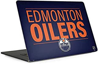 Skinit Decal Laptop Skin for MacBook Pro 15-inch with Touch Bar (2016-19) - Officially Licensed NHL Edmonton Oilers Lineup Design