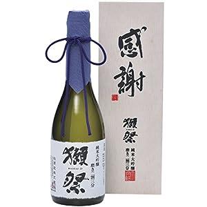 """獺祭 (だっさい) 純米大吟醸 磨き二割三分 「感謝」木箱入り 720ml 【 ギフトBox 】"""""""