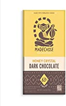 MADECASSE, Bars, Dk Choc, Honey Crystl, Pack of 10, Size 2.64 OZ, (Gluten Free)