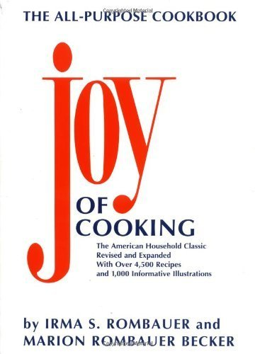 The Joy of Cooking, Revised and Expanded Edition by Rombauer, Irma S., Becker, Marion Rombauer (November 1, 1997) Paperback