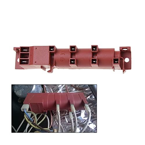 FENGFENG Sun Can 220-24 0V AC Cocina de Encendido de Pulso con Seis Conexiones de Terminal Dispositivo de Encendido