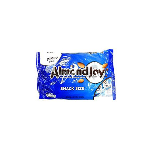 Product Of Almond Joy, Snack Size Jumbo Bag, Count 31 (20.1 oz) - Chocolate Candy / Grab Varieties & Flavors