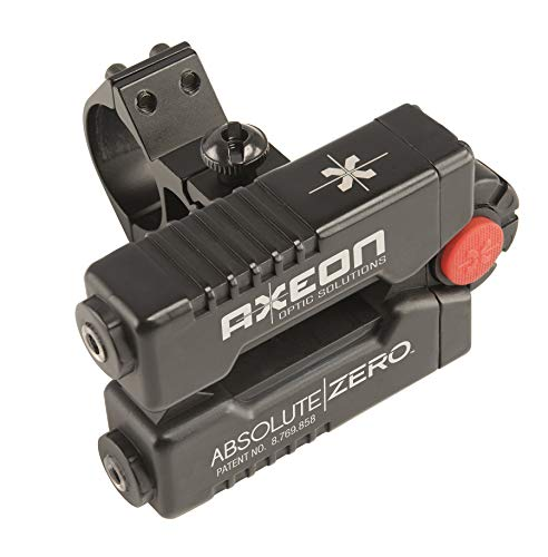 AXEON Optics Absolute Zero Easy One-Shot Laser Rifle Zeroing Device for Rifle Scopes