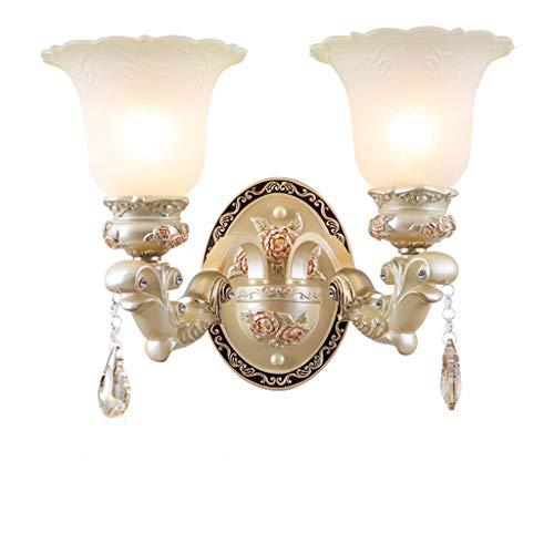 Double applique murale salon chambre lampe de chevet