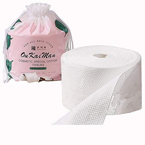 Zachte, unieke handdoek van puur katoen, aseptisch, oprolbaar, nat en droog, niet fluorescerend, verdikte parelpatroon, huidvriendelijk en absorberend.