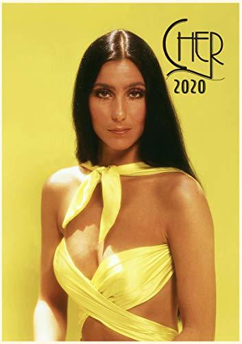 Wandkalender 2020 [12 Seiten, 20,3 x 27,9 cm] CHER Vintage Musik Poster Fotos Magazine Cover