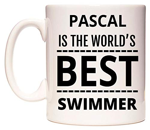 WeDoMugs Pascal is The World's Best Swimmer Becher