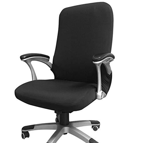 Funda para silla de oficina, repuesto universal para silla giratoria con reposabrazos, extraíble, a