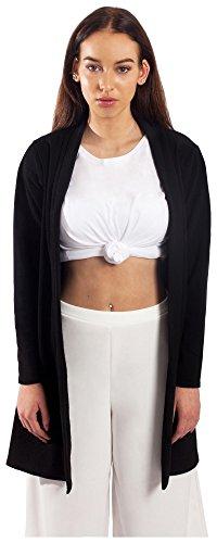 Gebreide jas lang lang dames zwart Cardigan Long Cardigan zomer gebreid shirt lang dunne jas gebreide mantel zomerjas