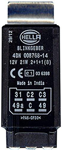 HELLA 4DN 008 768-141 Blinkgeber, 12V, mit Zubehör