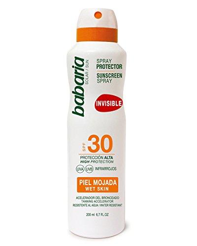 Babaria Spray Protector Solar Pieles Mojadas SPF30-200 ml