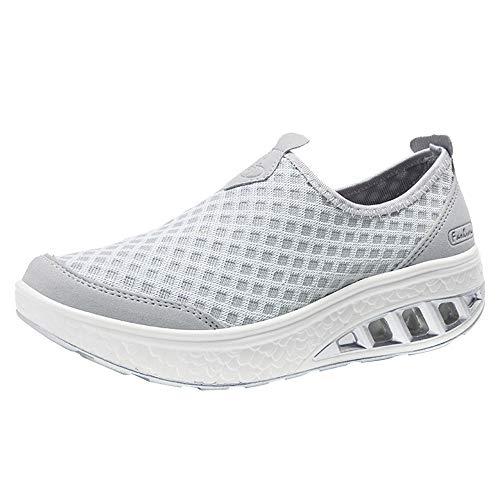 manadlian Chaussures de Course Running Femme Chaussure...