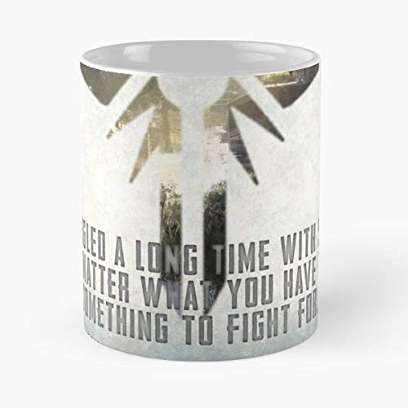 The Last Of Us Tlou Thelastofus Joel Ellie Playstation Ps3 Ps4 Fight Struggle Game Nextgen Firefly -funny Gifts For Men And Women Gift Coffee Mug Tea Cup White-11 Oz.